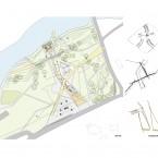 site plan, diagrams